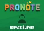 Pronote espace élève