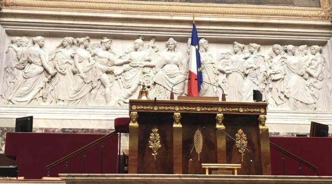 Les délégués de seconde des lycées Blum et Gutenberg reçus à l'Assemblée nationale